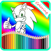 Coloring For Sonic Game