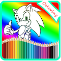 Coloring For Sonic Game APK