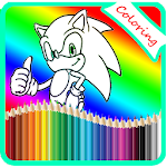 Coloring For Sonic Game Icon
