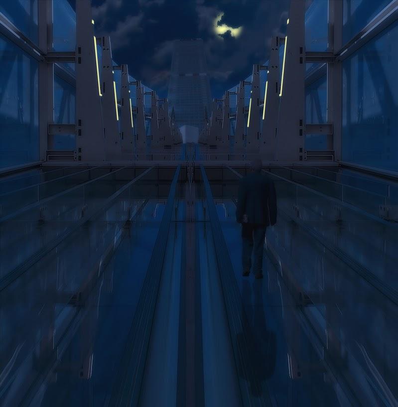 passeggiata nella città del futuro di angelo27
