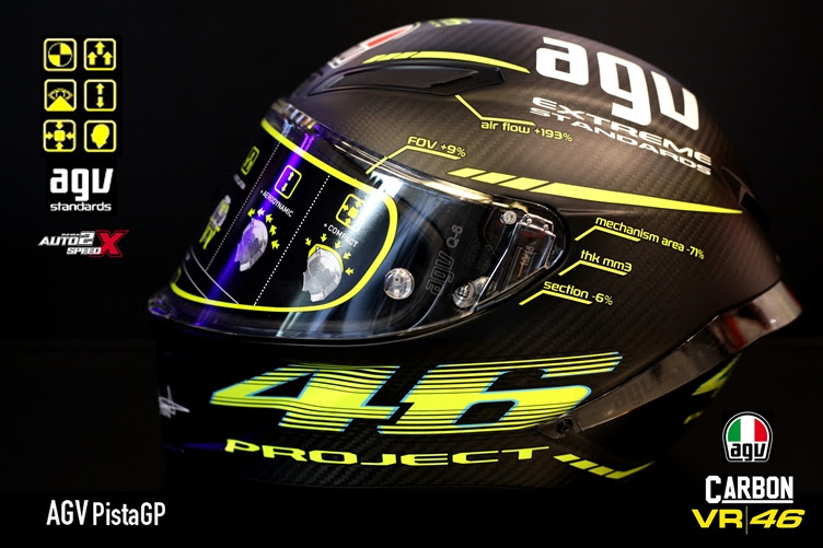 AGV Pista GP Project Rossi 2