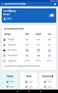 Khmer Weather Forecast screenshot 7