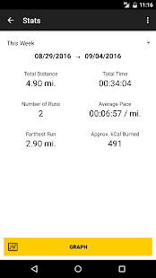 Elite Running Log- screenshot thumbnail