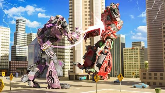 Futuristic Robot Flying Ball Battle 3
