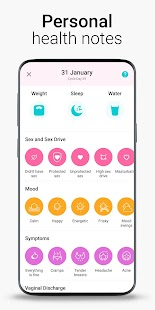 Period Tracker Flo. Ovulation Calendar & Pregnancy Screenshot