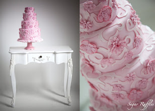 Photo: Chanel Inspired Pink Cake by Sugar Ruffles (10/12/2012). View Cake Details Here: http://cakesdecor.com/cakes/32018