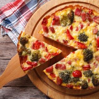 Ham and Veggie Medley Frittata