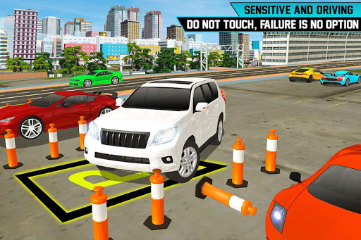 Prado Car Parking City Drive : Free Games 1.0 screenshots 11