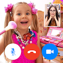 Kids Diana Show - video call - fake chat icon