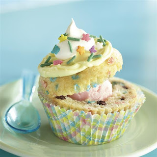 Funfetti® Spring Sundae Cupcakes.