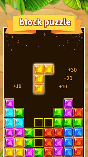 Gem blast - new slidey block puzzle  screenshots 1