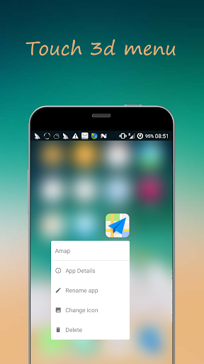 iLauncher os13 theme for phone x 3.10.1 screenshots 3
