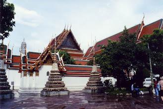 Photo: #017-Wat Pho (Le temple du Bouddha couché)-Bangkok