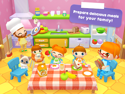 Sweet Home Stories - My family life play house Screenshot