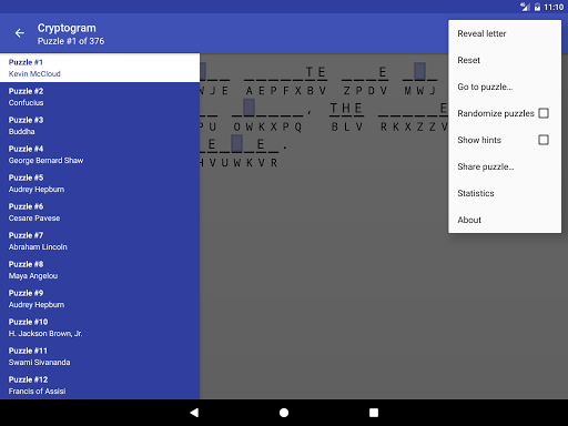 Cryptogram 1.8.3 screenshots 11