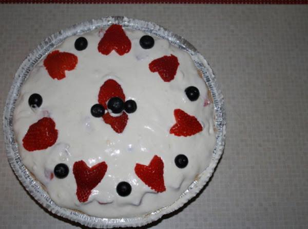 Hope's Friut Cream Pie Recipe