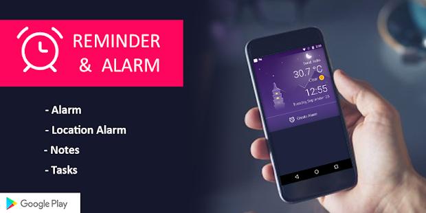 Reminder & Alarm - náhled