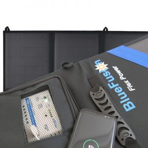 Charge Controller built into solar panels
