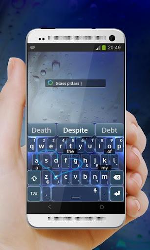 玩免費個人化APP|下載ガラス柱 TouchPal テーマ app不用錢|硬是要APP