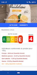 Nutrition Score - Scan produits Apk Download