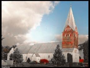 Photo: Die Kirche St. Nikolaus in Møgeltønder wurde m 12. jahrhundert errichtet