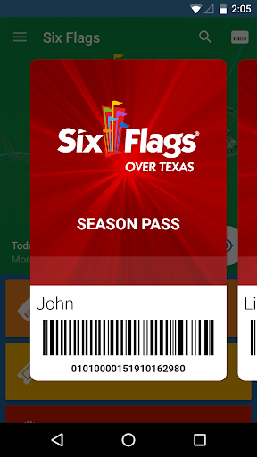 Six Flags Screenshot
