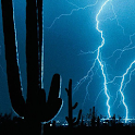 lightning storm wallpaper live icon