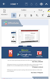 OfficeSuite Pro + PDF (Trial) Screenshot 1