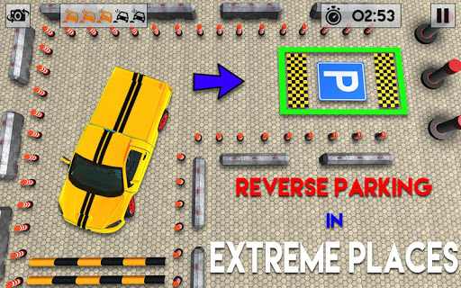 Sports Car parking 3D: Pro Car Parking Games 2020 apkdebit screenshots 3