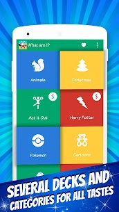 What Am I? – Family Charades (Guess The Word) MOD APK 1