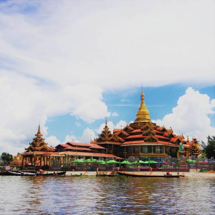 Hồ Inle – thị trấn Nyaung Shwe