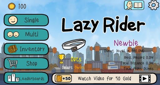 Lazy Rider - screenshot