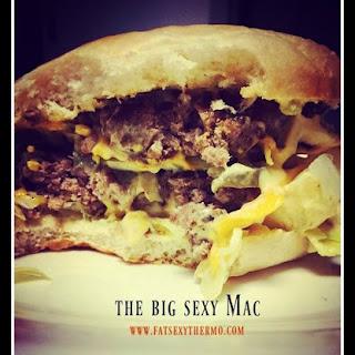 """Bringin' Sexy Mac"" Big Mac Saucy Burger"
