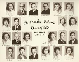 Photo: 8th grade graduating class of 1960