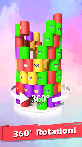 Color Ball 3D - Shoot & Hit Down captures d'u00e9cran 2