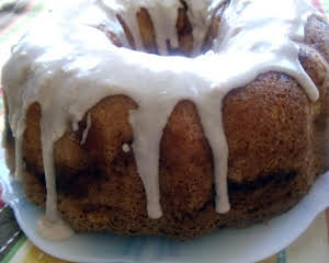 Blue Ribbon Apple Bundt Cake
