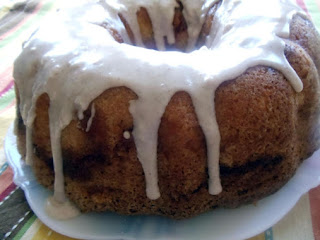 Blue Ribbon Apple Bundt Cake Recipe