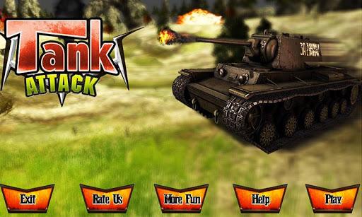 Real Tank Attack War 3D