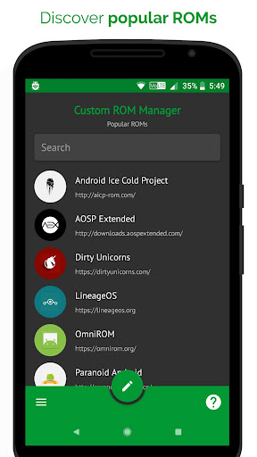 [ROOT] Custom ROM Manager (Pro)  screenshots 1