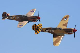 Photo: Warhawk a Kittyhawk