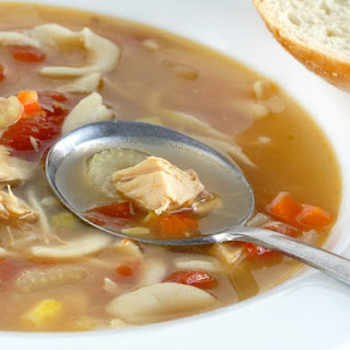 Slow Cooker Turkey Soup