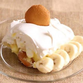Unconventional Banana Pudding.
