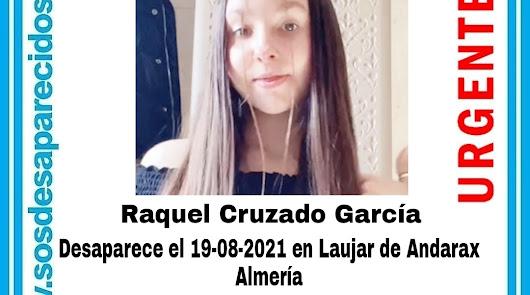 Localizada la menor de 13 años desaparecida en Laujar
