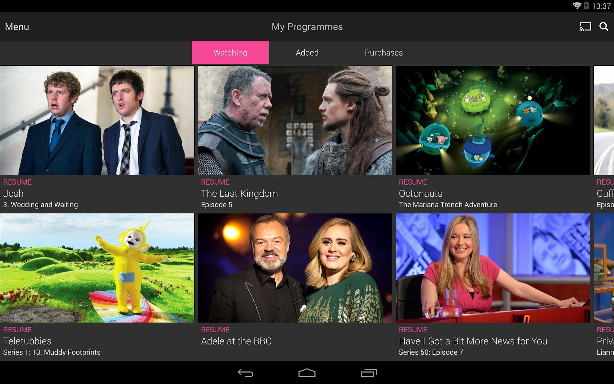 BBC iPlayer screenshot #11
