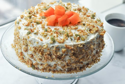 Easy Vegan Carrot Cake Recipe With Frosting