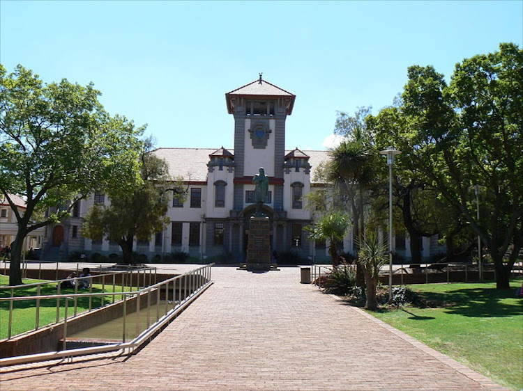 The body of a University of the Free State student was discovered on Tuesday. File photo.