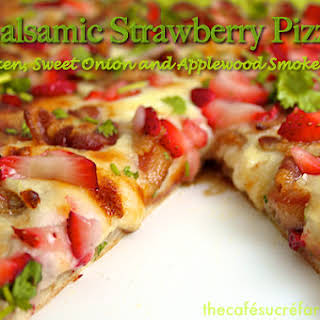 Balsamic Strawberry Pizza.