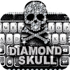 Diamond Skull Keyboard theme