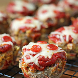 Pizza Meatloaf Muffins.