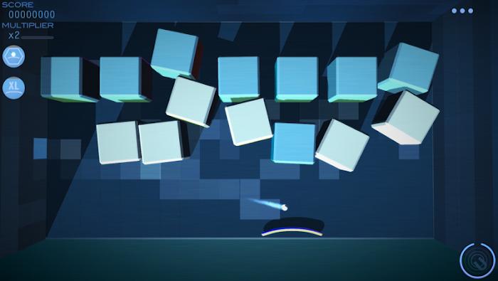 Grey Cubes: 3D Brick Breaker- screenshot